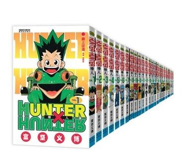 33 libri di HUNTER X HUNTER Yoshihiro Togashi Fantasy Manga Comic Book Tutti I Set Giapponese classico capretti del bambino del fumetto comic Cinese su  Gruppo 1