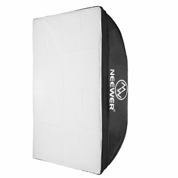 Neewer 20x28 inches/50x70 centimeters Rectangular Softbox Photography Light for Neewer Godox N-250W N-300W 300DI 250DI 300SDI image