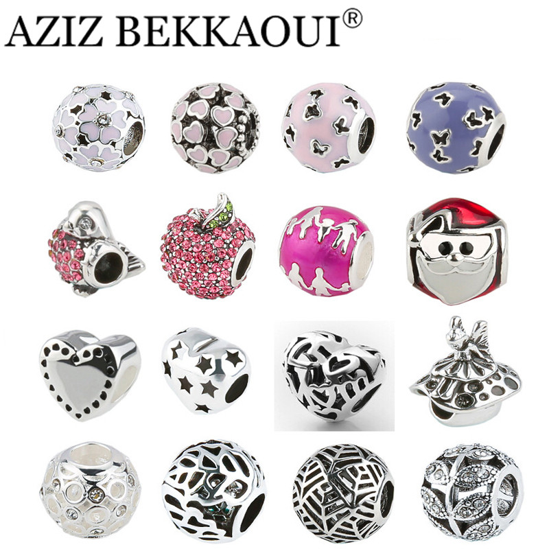 2017 New Big Hole Charms Beads DIY Jewelry Fits diy Charms ...
