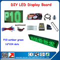 2015 new produxt wholesale price blue color P10 led module display screen outdoor led panel screen programmable led signs