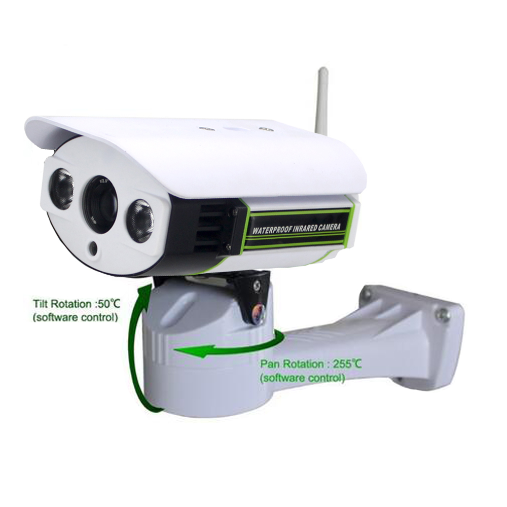 1080P Full HD Pan/Tilt IP Camera Wireless Outdoor Wifi Support Micro SDCard Slot 1080P 2MP IP Camera Outdoor CCTV Network camera escam qd900 wifi ip camera 2mp full hd 1080p network infrared bullet ip66 onvif outdoor waterproof wireless cctv camera