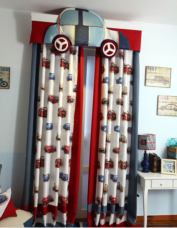 font b curtains b font for children boy cortinas with rings or hooks font b