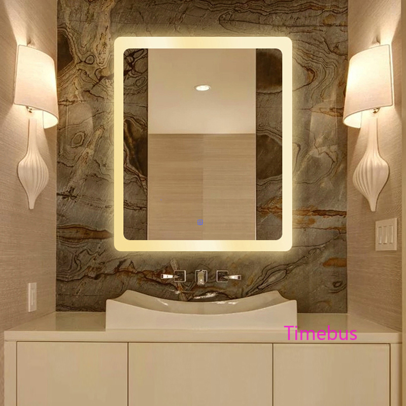 Bathroom Intelligent led Mirror Wall Lamp Fog-proof Toilet Bathroom led Mirror Beauty Cosmetology Salon Wall Mirror With Lights 3