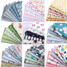 Nanchuang Cotton Fabric Patchwork Cloth For DIY Handmade Hometextile Baby&Children Quilting Tissue Needlework Materials 20x25cm