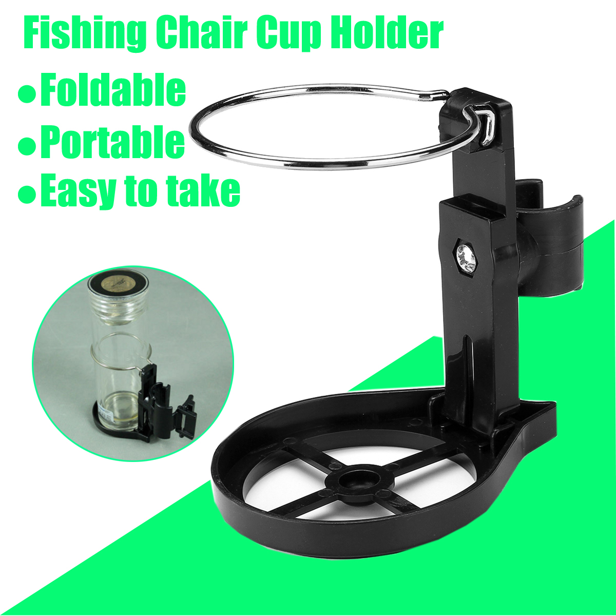 Bathroom Fixtures Cup & Tumbler Holders Sensible Portable Camping Picnic Beach Garden Fishing Couches Chair Side Table Cup Holder