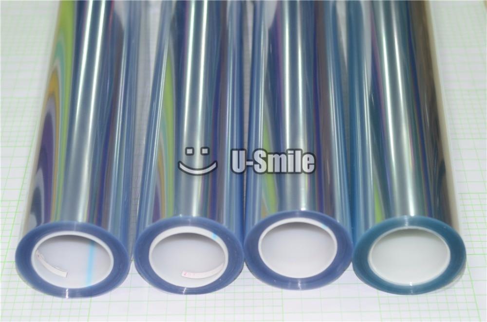 Film Transparent brillant de Protection de peinture de voiture de 3 couches de PPF pour la taille de véhicule: 1.52*15 m/Roll