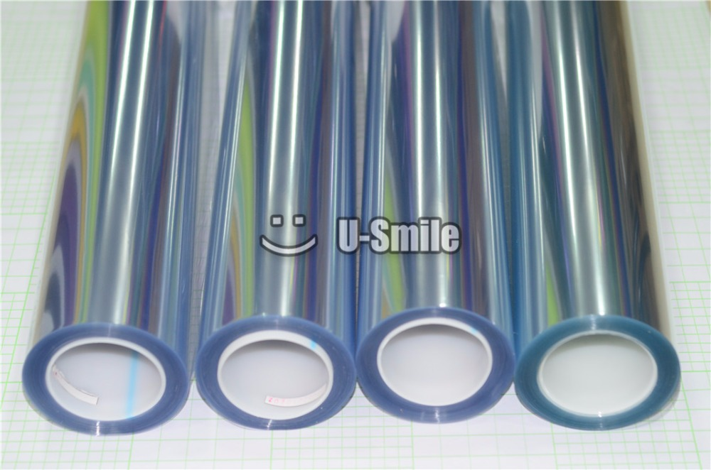 PPF 3 Layers Glossy Transparent Car Paint Protection Film For Vehicle Size:1.52*15m/Roll