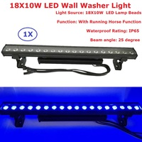 18X10W RGBW 4IN1 LED Bar Wall Wash Light DMX512 Washer LED Outdoor /Flood Lights DJ / Bar/ Party/ Show / Stage Lights DHL/ Ship