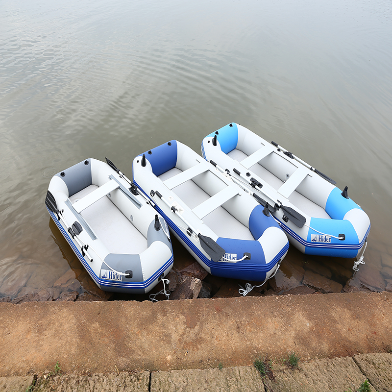 5 passager cheap inflatable folding boat float coastal CE rowing boat for fishing