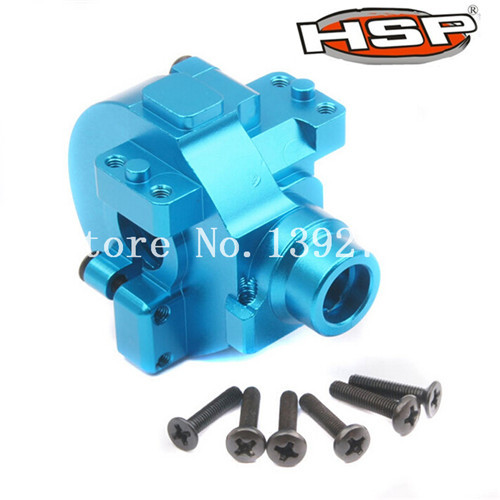 все цены на  HSP Upgrade Spare Parts 122075 Aluminum Alloy Gear Box With Screws 02051 1/10 Electric Nitro Upgrade RC Car Buggy Truck Truggy  онлайн