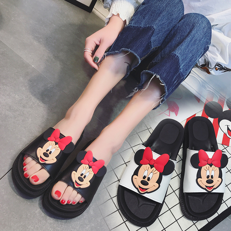 Mickey Slippers Mouse Women Summer