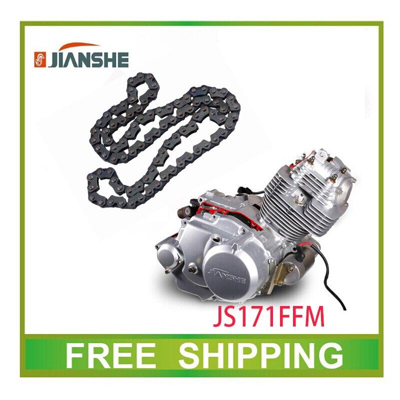 Jianshe Loncina 250cc Atv250 Cadena De Distribución Del Motor Tiempo Pequeña Cadena Atv Quad Accesorios Envío Gratis
