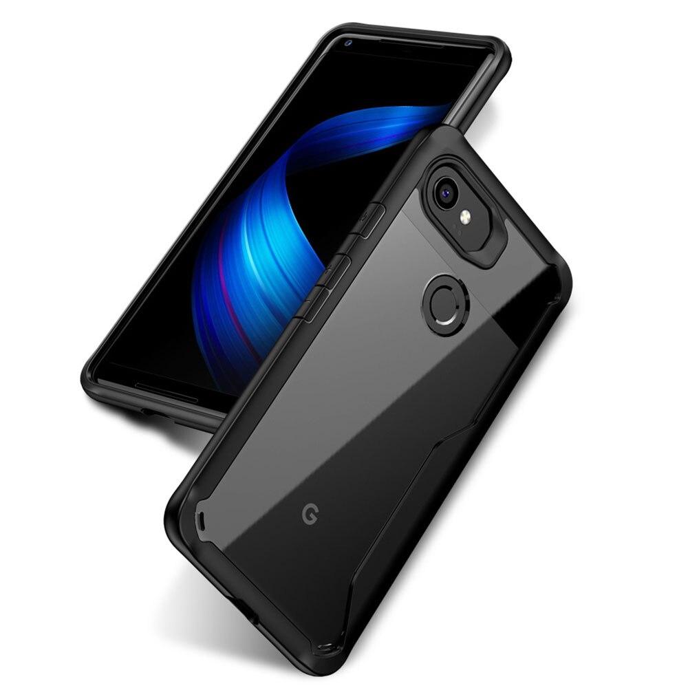 Armor Case For Google Pixel 2XL 2 XL Cover Transparent Soft Coque Phone Fundas Cases For Google Pixel 2 Pixel2 Back Capas