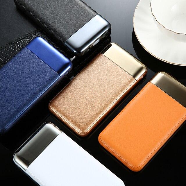 30000 mah Мощность Bank внешняя Батарея Мощность Bank 2 USB ЖК-дисплей Дисплей Мощность банк Портативный мобильного телефона Зарядное устройство для Xiaomi Mi iphone