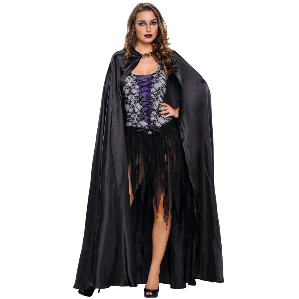 high quality custom made women halloween party cosplay witch costume adult scary halloween costumechina - Scary Halloween Costumes Women