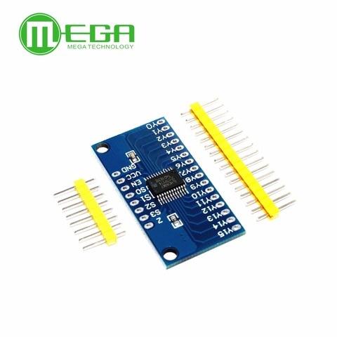 10PCS Smart Electronics CD74HC4067 16-Channel Analog Digital Multiplexer Board Module Pakistan