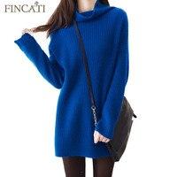 Sweater Women 2017 New Autumn Winter 100 Pure Cashmere Wool Fluffy Soft Turtleneck Vertical Striped Knit