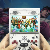 raspberry pi portable game console with retro system
