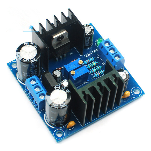 Lm317 Ac Dc Adjustable Filter Power Supply Circuit Board