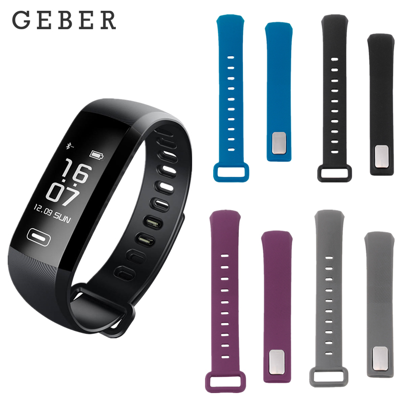 <font><b>R5</b></font> MAX <font><b>R5</b></font> <font><b>PRO</b></font> wrist strap black blue purple gray replacement Silicone Strap for smart fitness bracelet pk <font><b>Tezer</b></font> image