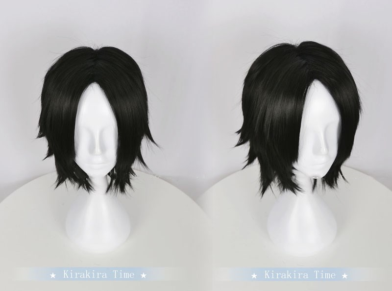 Bright Anime Cosplay One Piece Portgas D Ace Black Short Wig Halloween Role Play Activating Blood Circulation And Strengthening Sinews And Bones