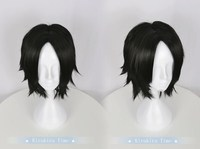 Anime Cosplay One Piece Portgas D Ace Black Short Wig Halloween Role Play