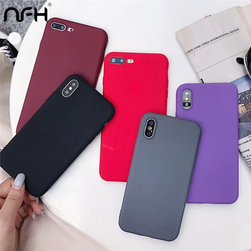 Мягкий чехол карамельного цвета для телефона Xiaomi Mi 8 9 SE A2 lite F1 на Redmi 8 8A 4x5 Plus 6A Note 5 7 8 Pro K30 милый фиолетовый чехол на заднюю панель