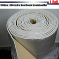 1 Roll 1000cm x100cm Aluminum Foil Car Turbo Hood Firewall Sound Heat Proofing Insulation Mat Deadening Deadener Free Shipping !
