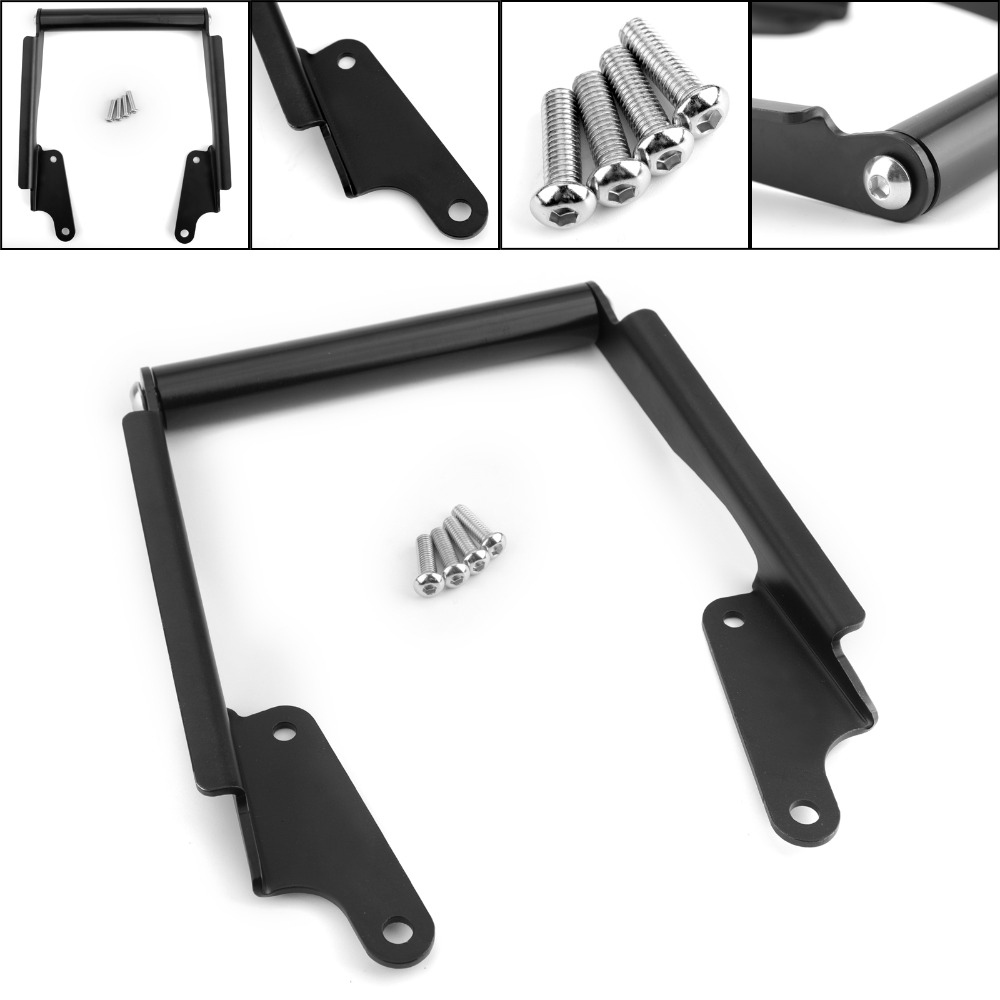 Areyourshop Motorcycle GPS Phone Stand Bracket Holder Navigation Plate For Yamaha MT 09 TRACER/Tracer 900 2016 2017 Motor Parts-in Covers & Ornamental Mouldings from Automobiles & Motorcycles    1