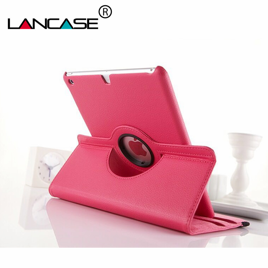 цена на LANCASE 7.9' for Apple iPad Mini 4 Case Cover Leather 360 Rotation Folded Stand Case for iPad Mini 4 Tablet Cover Shell Luxury