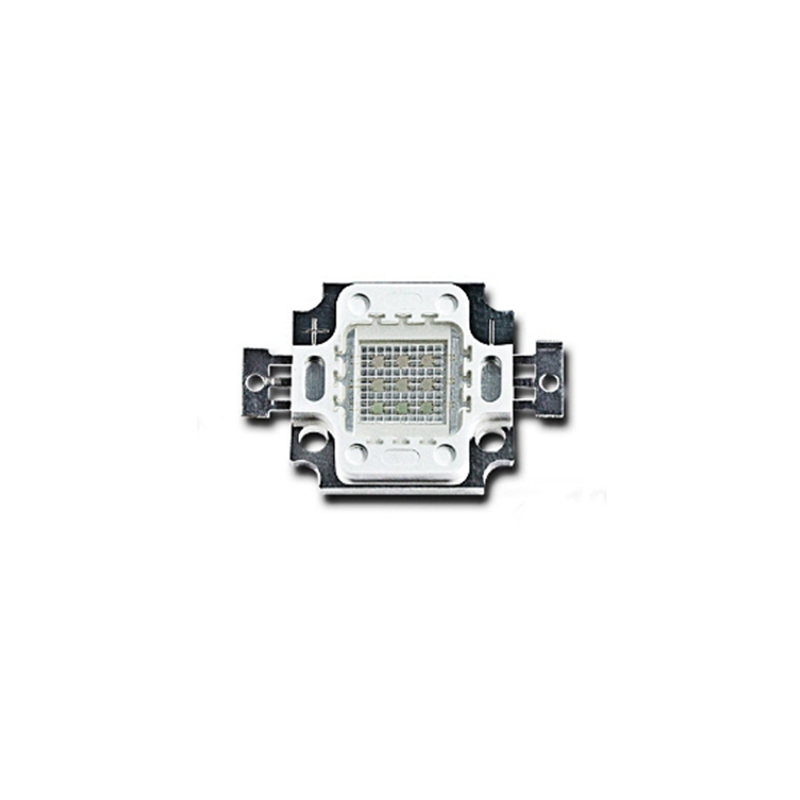 Jiguoor High Power 395NM <font><b>400NM</b></font> 405NM 410NM 10W UV Purple COB <font><b>LED</b></font> Bead Light DIY Ultraviolet <font><b>LED</b></font> Chip Lamp 8-11V image