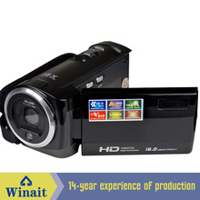Cheapest 16 Mp Max 720P HD 16 X Digital Zoom Digital Video Camera Digital Camcorder with 2.4″ LCD Screen Lithium Battery