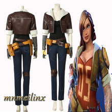 MNMEILINX Battle Royale Penny Cosplay Costume Jacket Halloween Party Women Superhero