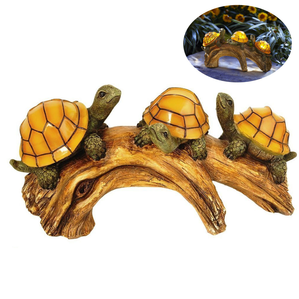 Three Crawling Turtlesd Night Light Luminaria Animal Solar Led Night Lamp Marquee Letter Gift Toys Bedroom Decor For Kids Baby