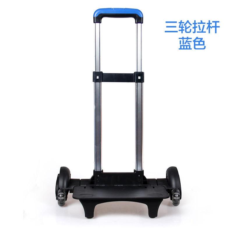 Valise télescopique sac à bagages pièces chariot/poignées valises remplacement tiges télescopiques poignée de bagage accessoires de réparation