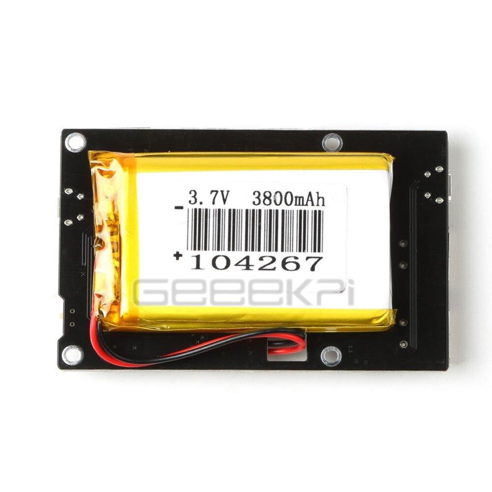 GeeekPi 3800mAh 5 Port USB 2.0 Hub Power Supply Module for Raspberry ...