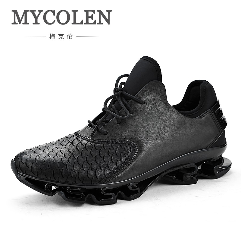 MYCOLEN 2018 New Spring/Autumn Men Casual Sneakers Breathable Trend Men's High Quality Tide Men Shoes Chaussure Homme Sport spring autumn casual men s shoes fashion breathable white shoes men flat youth trendy sneakers
