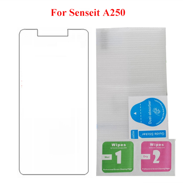 For Senseit A250 Glass Tempered Glass Screen Protector 2.5 9H Safety Protective Film for Senseit A250 Glass