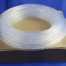 Супер яркий PMMA волоконно-оптический кабель боковое свечение 3,0 мм диаметр для волоконно-оптический светильник ing DIY светильник украшения