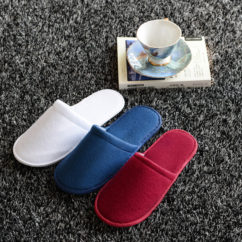 Five-star hotel SPA supplies disposable slippers summer home women and men indoor soft pull wool slippers select indoor five 852708 003 размер 4
