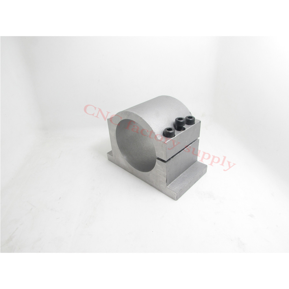 HOT sale spindle bracket motor mounts inner diameter 80mm spindle motor clamp fitted seat with 3pcs screw motor mount bracket spindle fixed seat clamp 80mm diameter