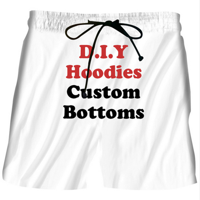 men's shorts 3D print wide leg shorts bottom plus size pants for man