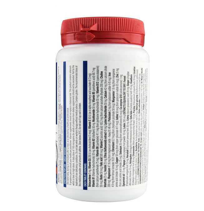 Free Shipping Swisse Women's ULTIVITE Support During Stress Assists Energy Levels Stamina & Vitality 120 Tablets Multi-vitamins