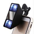 Smartphone universal 3d mini fotografía visión estéreo lente de la cámara para iphone 6 s plus 5s/5 htc samsung s6 s5 s4