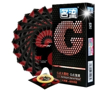 10pcs*Point G Condom Particles Ice Fire Melting Heat Craving Condoms-Ultra Thin YTR hot sale