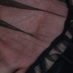Image 5 - Lolita Petticoat Frau Kurzen Unterrock Rockabilly Rüschen Tüll Schwarz Weiß Rot Lager Puffy Tutu Rock Cosplay Cocktail Kleid