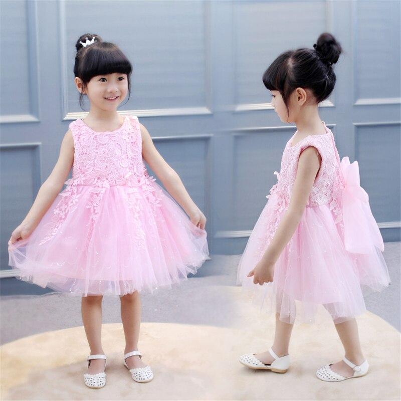 BibiCola Kleine Mädchen Kleid Kinder Sommer Kleidung Party - Kinderkleidung - Foto 2