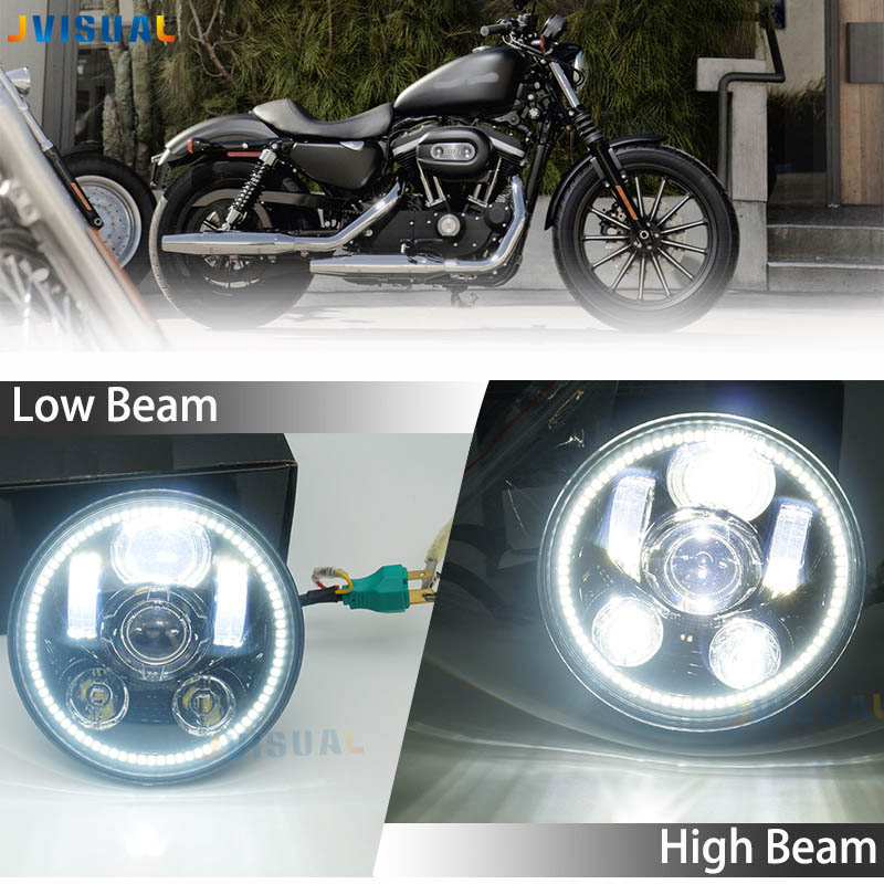 Harley 5-3/4 in. Daymaker Projector LED Headlamp For Harley Davidson Street 500 XG750 FXDB FXDF 2016 Sportster 1200 Iron 883 R48 цена