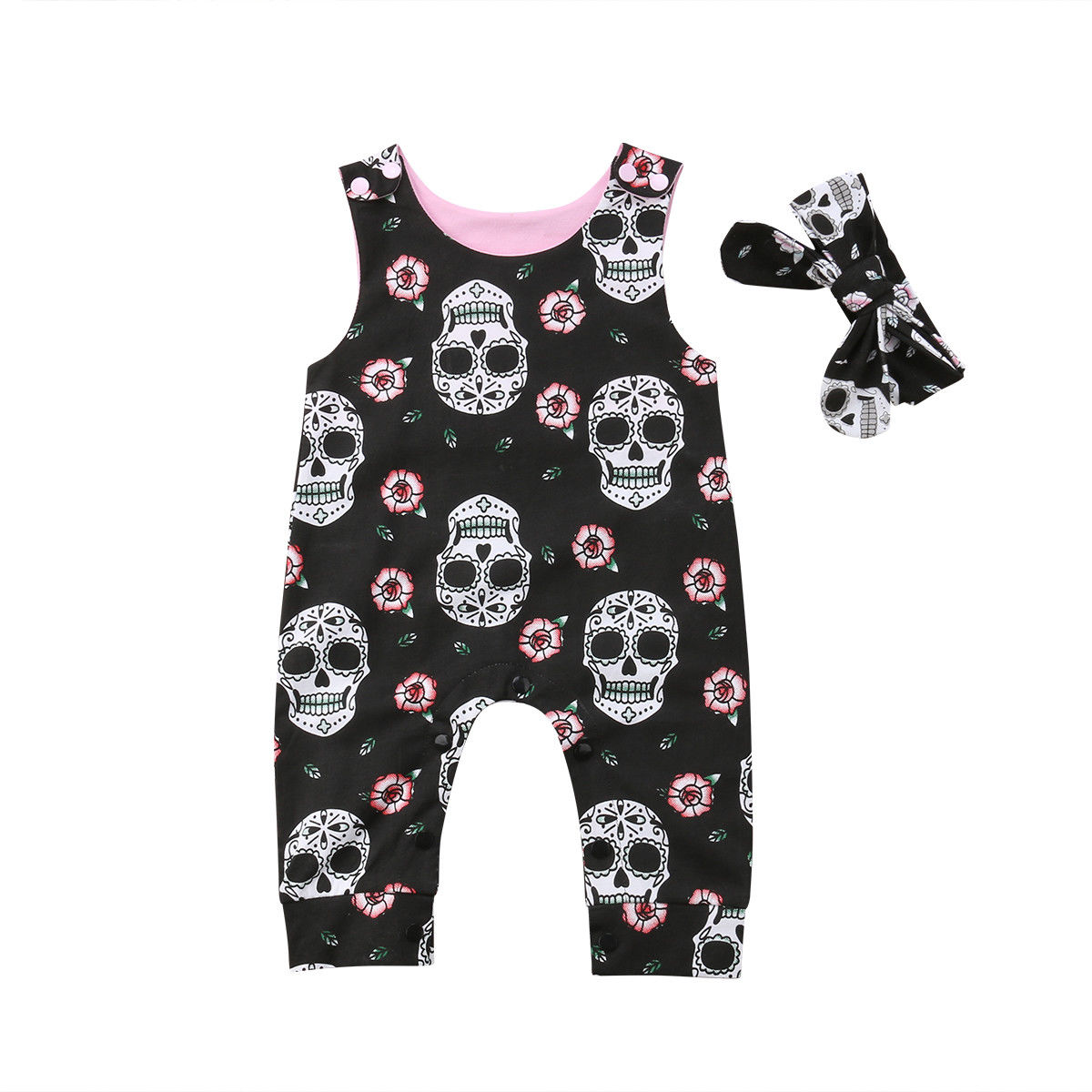 2pcs baby toddler Kids boys girls outfits top+rompers OVERALL SETS bear