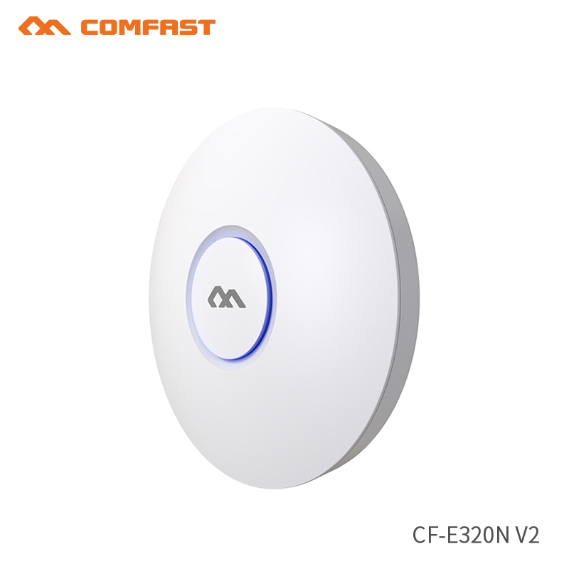 New 300Mbps Ceiling AP Router Wireless 2.4Ghz Wifi Router Wi-fi Signal Booster WIFI Extender Repeater RJ45 Wifi 6dbi Antenna ap